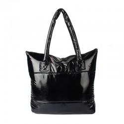 Waterproof nylon shoulder bag