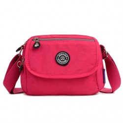 Waterproof nylon crossbody shoulder small bag