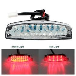 Lumière posterièure pour moto LED