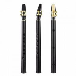 8 holes mini alto saxophone with mouthpiece tune B