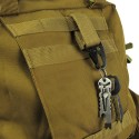Outdoor camping tactical carabiner hook
