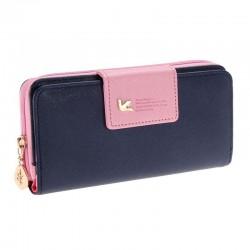 Lange Damenbrieftasche aus Leder