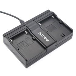 NP-F960 NP-F970 NP F930 Batterie Dual Ladegert für SONY F950 F330 F550 F570 F750 F770 MC1500C HD100