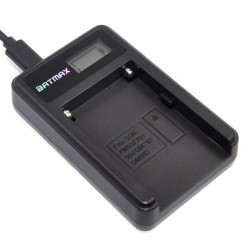 Chargeur batterie NP-F960 NP-F970 NP F930 LCD pour SONY