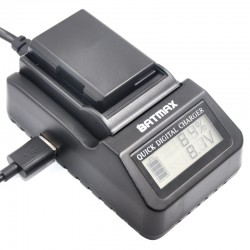 Chargeur batterie multifonction digitale EN-EL14 LCD pour Nikon