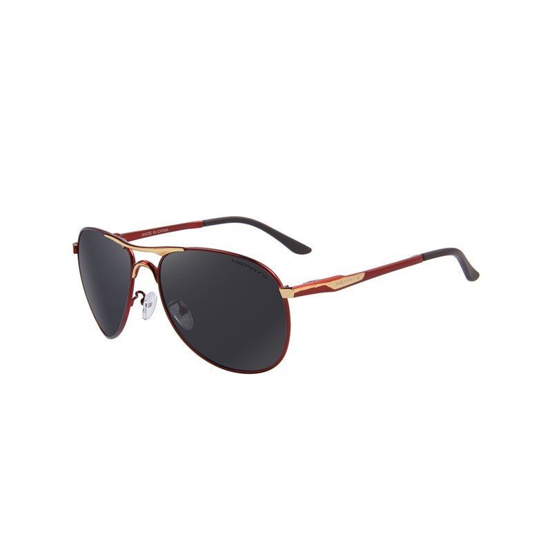Aluminum polarised classic sunglasses