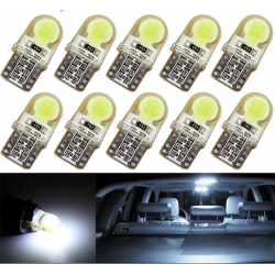 Ampoule voiture T10 W5W LED COB 10 pcs