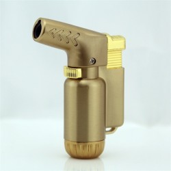Compact butane turbo jet lighter