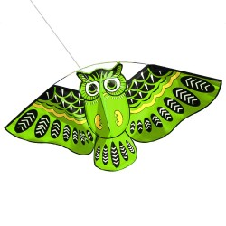 Cerf-volant hibou vol facile 110 * 50cm