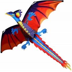 Colorfull dragon flying kite 140 * 120cm