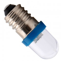 E10 F8 1SMD 12V LED car light bulb 100 pcs