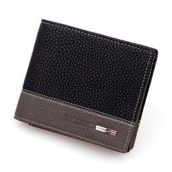 Men's leather wallet purse