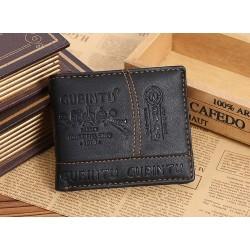 Herrenportemonnaie aus Leder - Reißverschluss- und Kreditkartenfächer