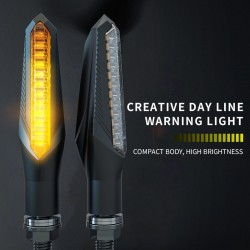 CB190 LED 150NK 12V - high brightness - motorcycle turn signal lights - set of 2