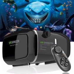 Lunettes + smart gamepad VR virtual reality 3D Shinecon Pro