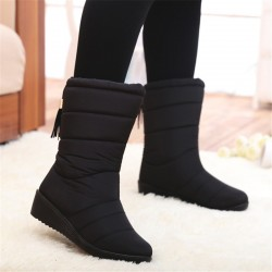 Winter mid-calf waterproof boots