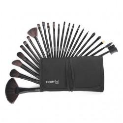 Professional makeup brush set with case 24 pcs