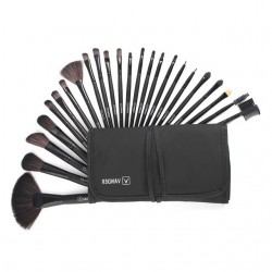 Professional makeup brush set with case 24 pcs