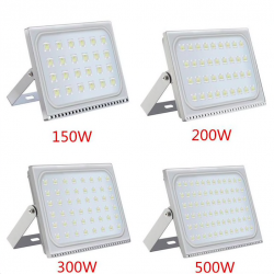 150W 200W 300W 500W IP65 110V/220V ultra thin LED flood light outdoor reflector