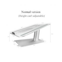Soutien pour laptop adjustable d'alliage d'aluminium