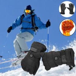 Gants impermeables d'hiver avec batterie