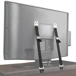 TV & furniture baby safety anti-tip wall straps 2 pcs