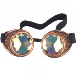 Vintage steampunk gothic goggles glasses unisex