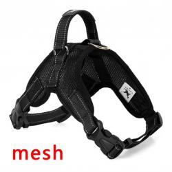 Dog's harness collar lead vest
