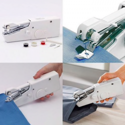 Mini portable handheld sewing machine