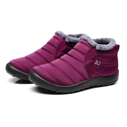 Women's anti-skid warm ankle boots waterproof