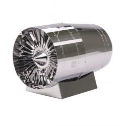 Metallpuzzle der Turbinenmaschine 3D