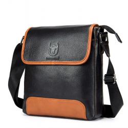 Genuine leather shoulder & crossbody bag