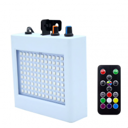 108 LED mixed flashing stage light sound activated with remote