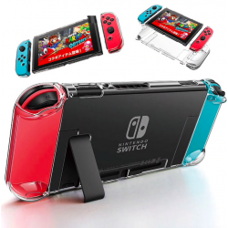 Nintendo Switch NS NX crystal PC transparent case hard back cover shell