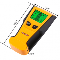 3 in 1 stud center finder metal & AC live wire detector