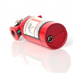 Fire extinguisher fire lighter keychain keyring