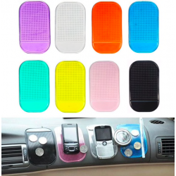 Universal anti-slip sticky pad mat phone holder