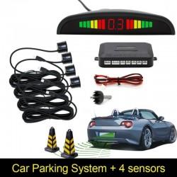 Car LED reverse parking sensor detector & backlight display