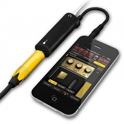 Cable convertiteur interface guitare AMP