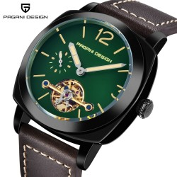 Pagani Design automatic leather watch waterproof