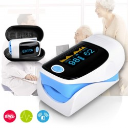 Digital finger pulse oximeter with LCD discplay