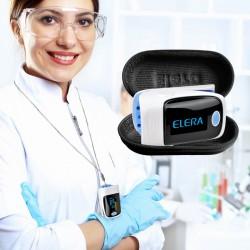 Digitale vingertop pulse oximeter / saturatiemeter hartslagmeter met LCD-scherm