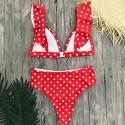 High Waisted swimsuit bikini set