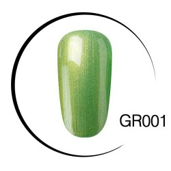 UV LED green soak-off nail gel polish - 10ml