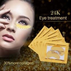 Goldene Kristall Kollagen Augenmaske patch 10 Stück