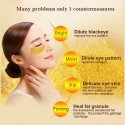 Golden crystal collagen eye mask patches 10 pcs