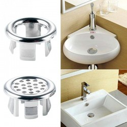 Bathroom - sink overflow ring
