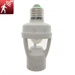 E27 Light Bulb with Iinfrared PIR motion sensor