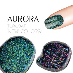Top coat UV nail polish hybrid gel 5 ml