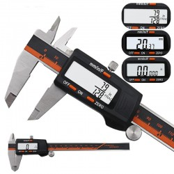 High precision caliper stainless steel with LCD display